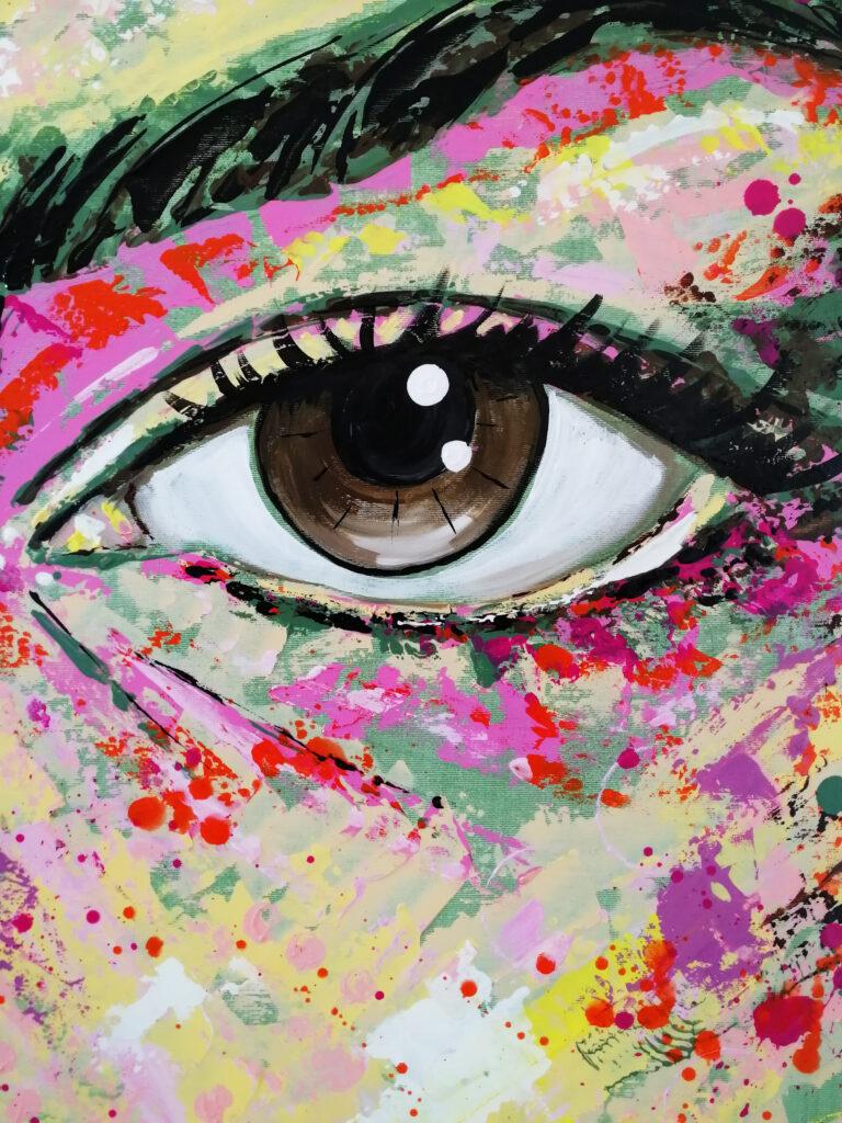 portrait acrylic technique siho-art