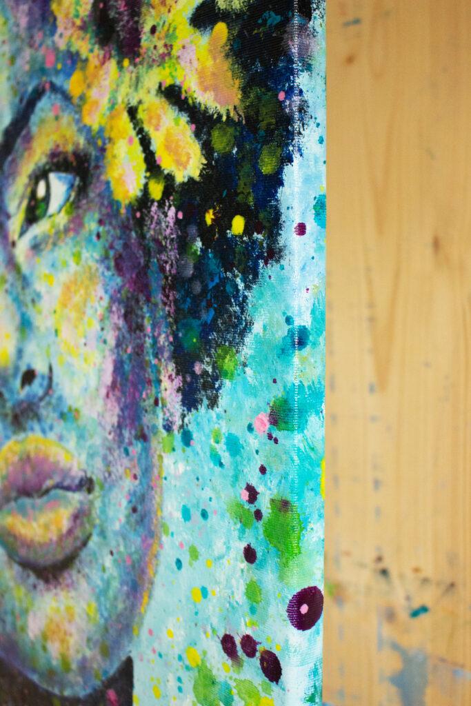 acrylic portrait painting siho-art