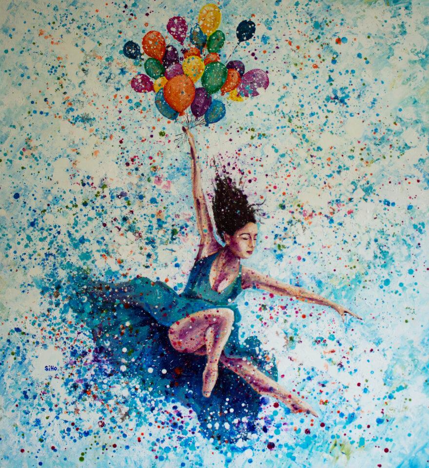ballet dancer siho-art