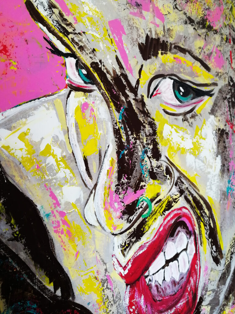 abstract portrait artists siho-art