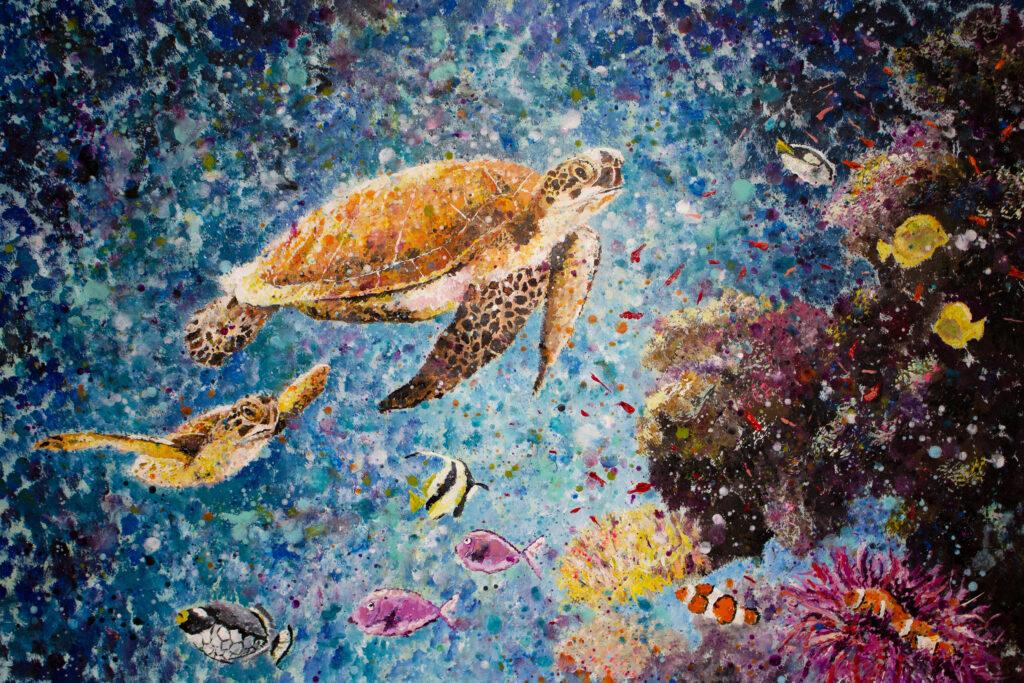 sea world painting siho-art